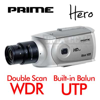 PRIME: ULTRA High Res HD with Double Scan WDR